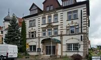 Altes Hotel Eingang